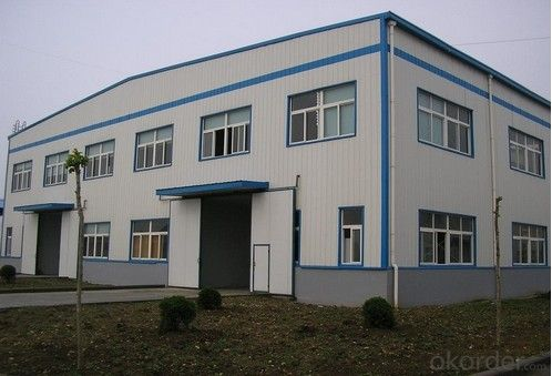 Longevity Prefabricated House of Heavy Steel Structure