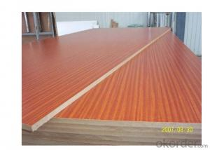 Melamine Paper Faced  MDF Board Wood Grain Color