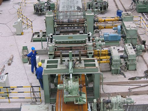 steel coils slitting line