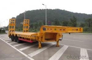 SINOTRUK LOW FLAT BED SEMI-TRAILER