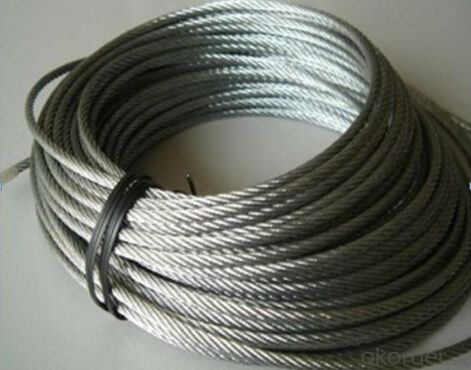 Stainless Steel 316 Tension Cable 7 X 7, 4mm