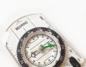 Transparant Map Compass DC35-B