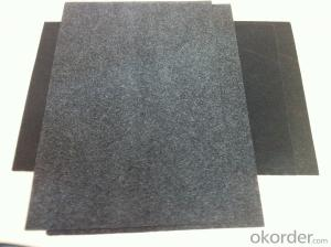 BLACK FIBERGLASS TISSUE with PE COATING-50EP