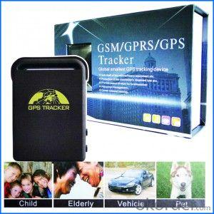 GPS Tracker TK102 with Mini Dimension for Personal and Pets