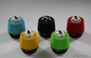 Chargable Air Purifier Vehicle Dome Compass