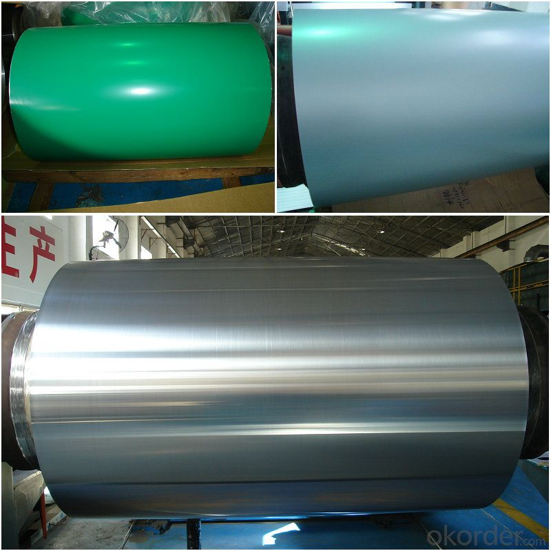 PVDF and PE color coated aluminum coil rolls