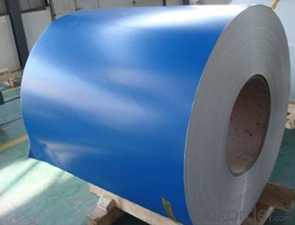 aluminium foil with color coated surface