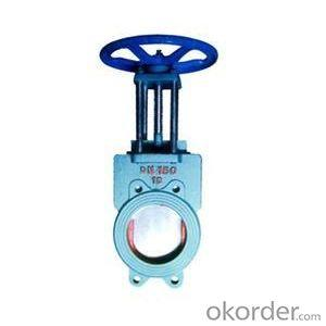 Ductile Iron Knife Gate Valve for Wast Water