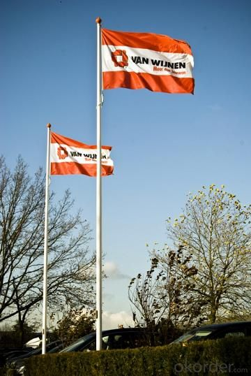 FRP FLAG POLE-BIG