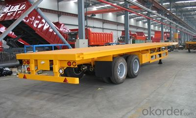 SINOTRUK CONTAINER FLAT BED SEMI-TRAILER