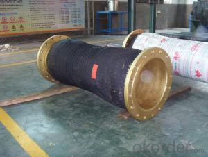Dredge rubber hose for port and river dredging DN150x2M