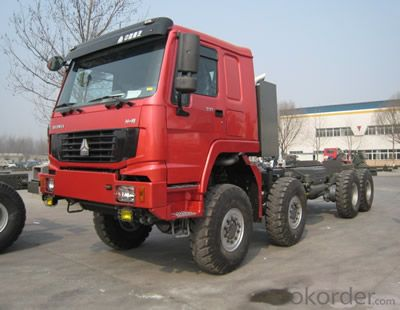 HOWO All Wheel Drive Truck 8x8 RED