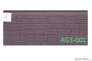 hot sale PU facade panel for warehouse fast install and fast delivery