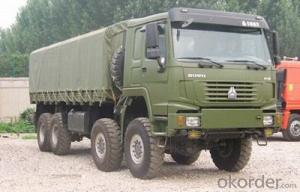 HOWO All Wheel Drive Truck 8x8