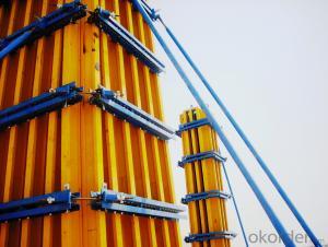 High Stiffness Concrete Column Formwork For Pouring Circular