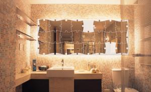 High Qualit Alligatoring Lacquer OEM Decorative Mirror