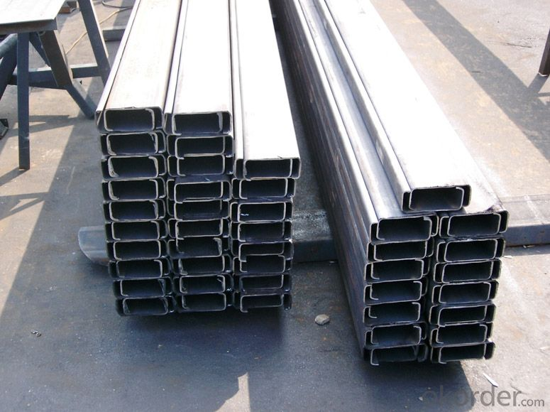 Cold-Rolled C Channel Steel with Good Quality 80mm*40mm