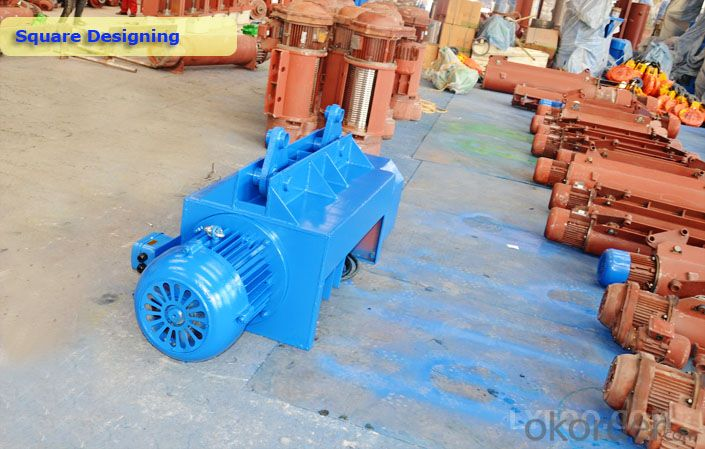Top safety Electric Wire Rope Hoist