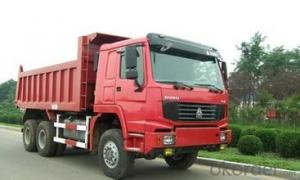 HOWO All Wheel Drive Truck 6x6 RED