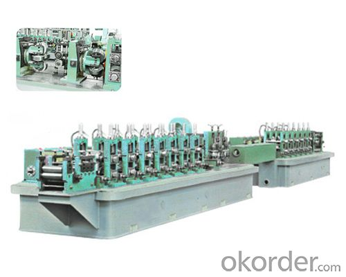 high frequency welded pipe production line HG50