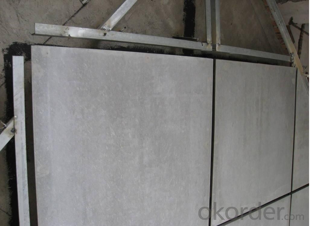 Water-proof  Fiber Cement External Siding Board