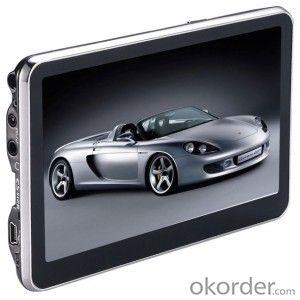 GPS navigator 5 inch with BT,4GB card  with rearview camera