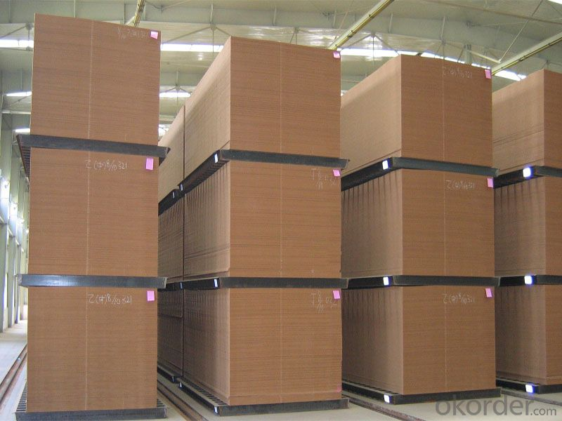 Plain High Density Fiber Board E2 GRADE Light Color