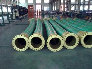 Dredge rubber hose for port and river dredging DN250x2M