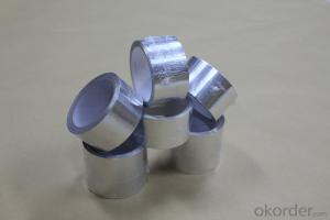 HIGH PERFORMANCE PLAIN ALUMINUM FOIL TAPE