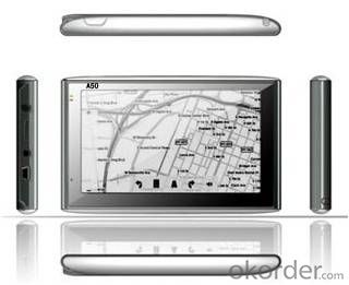 Factory 5 inch GPS Navigation System 4GB 128MB