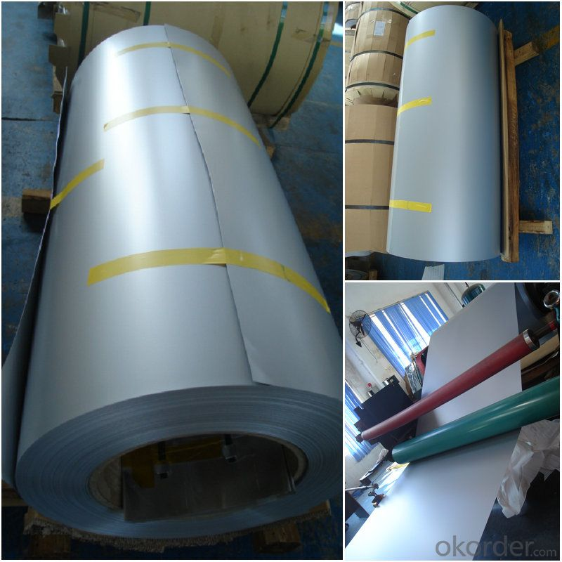 silver color coated aluminum roofing rolls