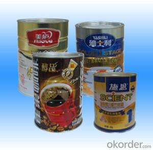 Printed Tinplate For Milk Powder, GIS G3303