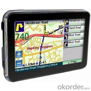 HD TFT 4.3 inch Display Car GPS Navigation