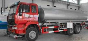 HOWO FUEL TANK TRUCK RED