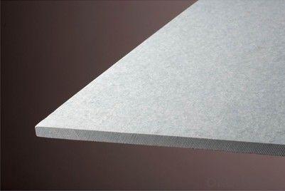 UV Coating Wood Grain Decorative Fiber  Cement Board