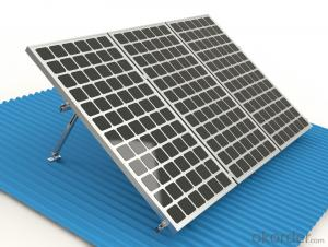 Adjustable Flat Rooftop Solar Mount