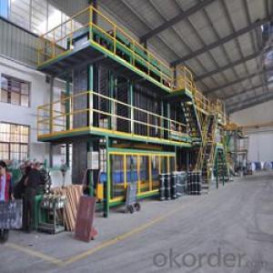 SBS APP bitumen membrane machine