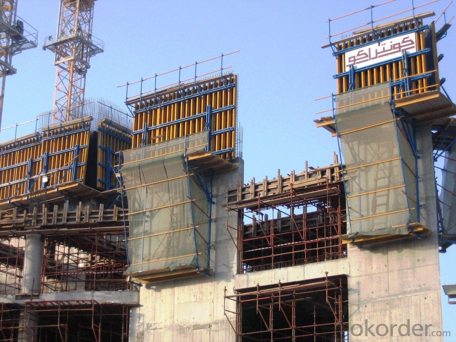 cantilever formwork system