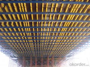 Convenient Efficient Bridge Formwork With Timber Beam