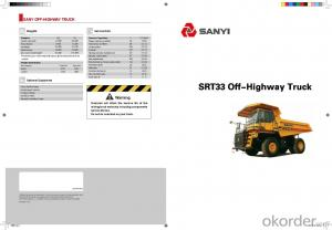 SANYI OFF-HIGHWAY TRUCK SRT33