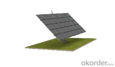 dual axis tracking system Solar mounting system