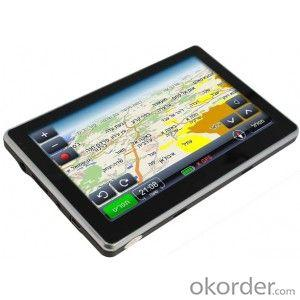 Car gps 4.3 inch with navigator maps, HD resolution 800X480