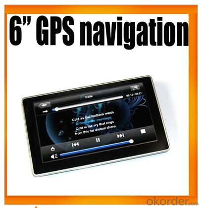 Six inch Car Navigation L601