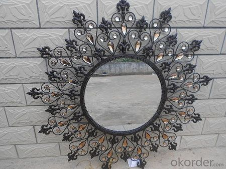 Glacier Honeycomb decor mirror