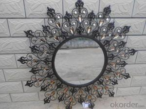Frameless Hanging Wall decorative mirror