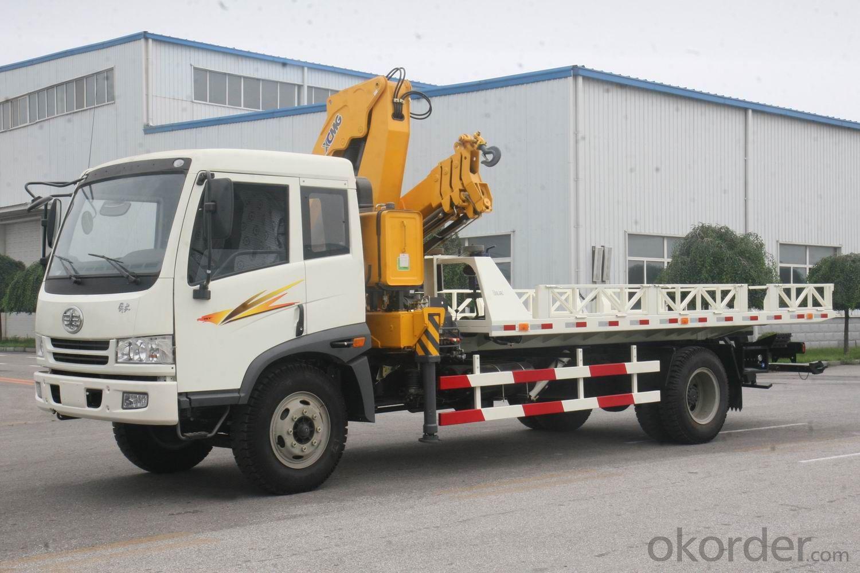 Multifunction Flatbed Road Wrecker Truck KFM5164TQZ05P