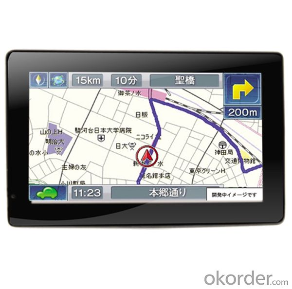 GPS Navigator 4.3 inch 800MHz support ISDB-T,AV-IN,BT,FM,TMC