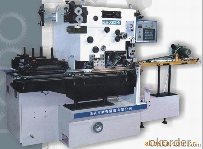 Auto welding machine for aerosol cans