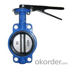 Ductile Iron  Butterfly Valves DN100 PN16