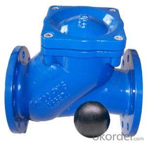 Pn16 Ductile Iron Casting Ball Valve